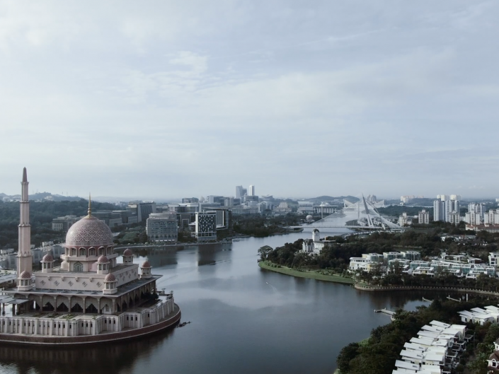Aerial: Cinematic Aerial Film in Putrajaya