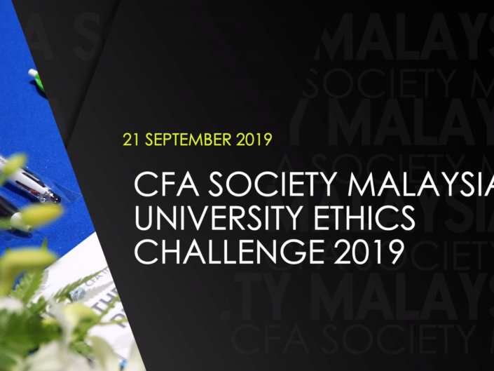 CFA National Ethics Challenge 2019